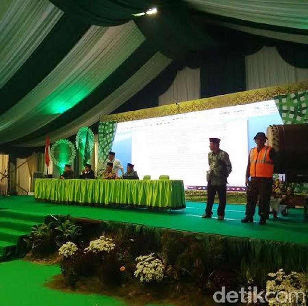 Setelah Dibuka, Pleno I Muktamar NU Diskors untuk Rapikan Posisi Duduk