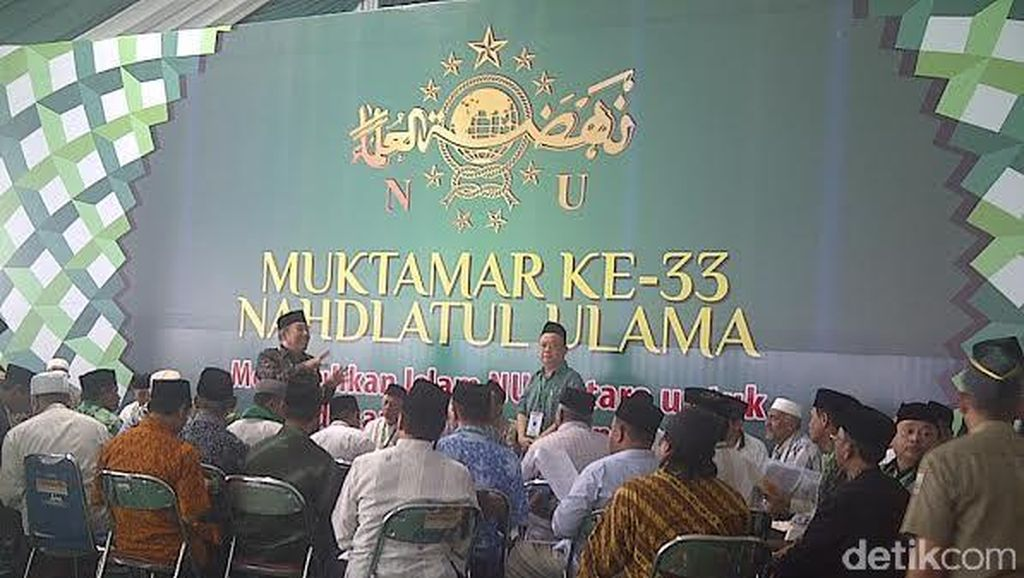 Muktamar Sempat Memanas, Khatib Aam Kumpulkan PWNU se-Indonesia