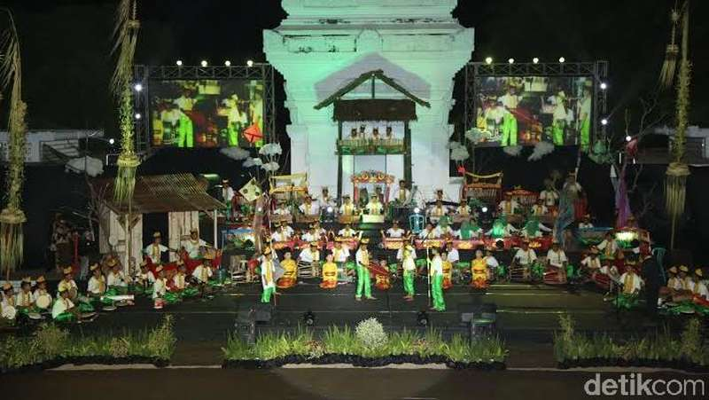 Dimainkan Ratusan Bocah, Banyuwangi Festival Berlangsung Meriah