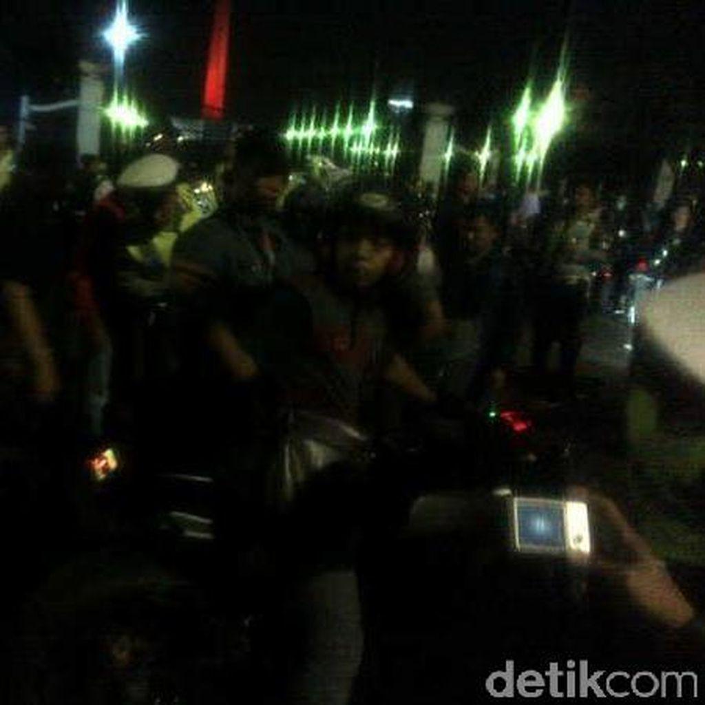 Razia Balap Liar di Monas, Polisi Tilang 145 Orang