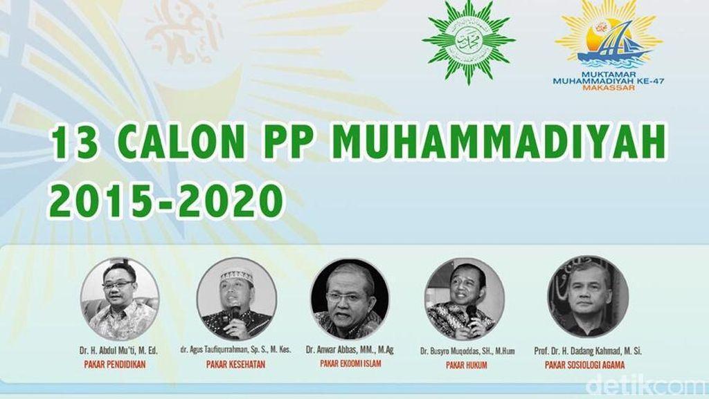 Jelang Muktamar, Muncul Paket 13 Calon PP Muhammadiyah 2015-2020