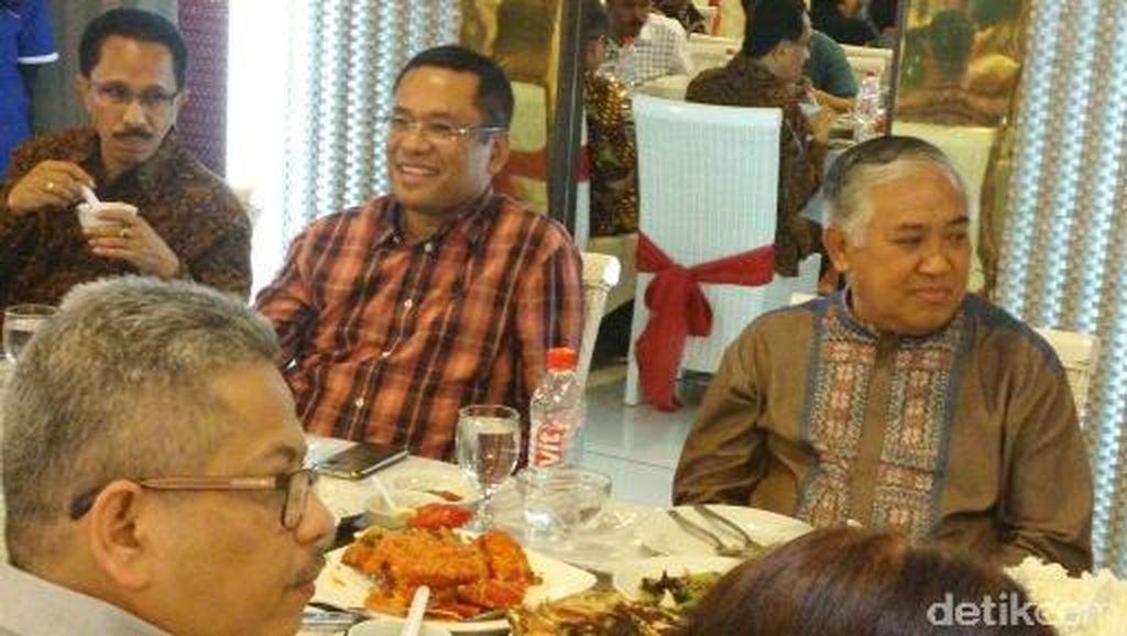 Din Syamsuddin-Saleh Husin Hadiri Diskusi Buku Muhammadiyah Ahmad Dahlan