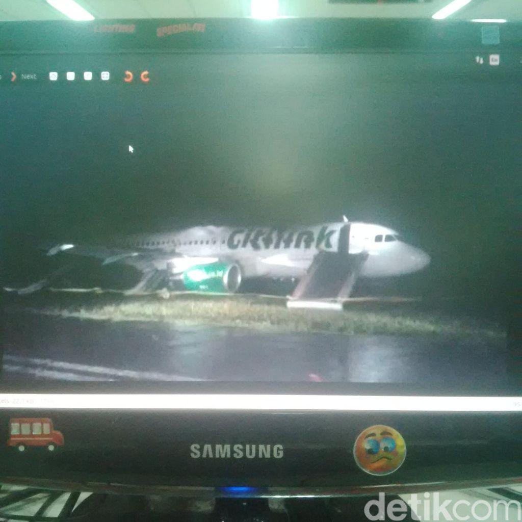 Citilink Berkoordinasi dengan KNKT Terkait Pesawat Tergelincir di Padang