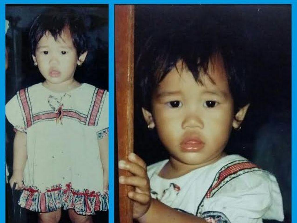 Anak Kecil Diculik Tahun 1997 Lalu, Foto-foto Dinda yang Masih Disimpan Keluarga