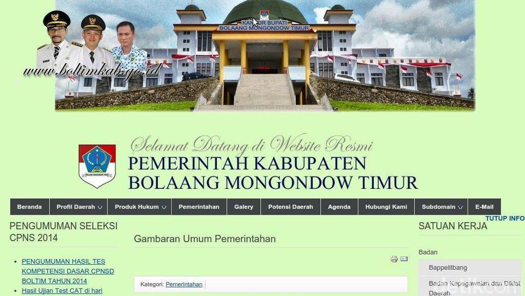 Profil Boltim Sulut, Daerah yang Belum Punya Satu pun Calon Bupati