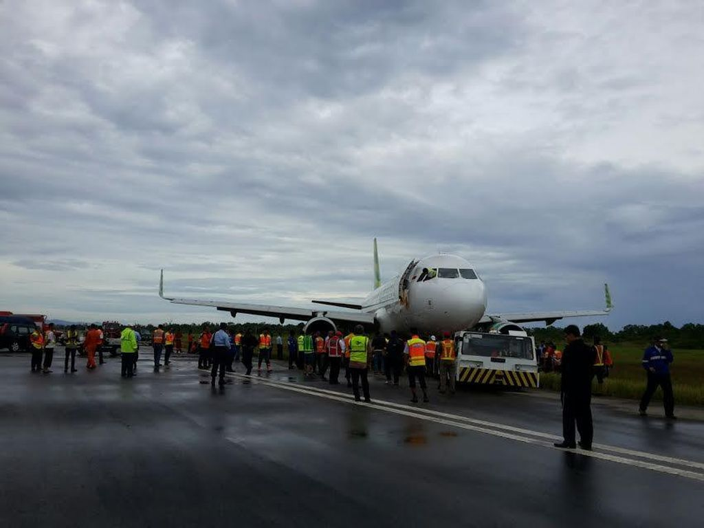 Evakuasi Citilink Selesai, Bandara Minangkabau Kembali Beroperasi Normal