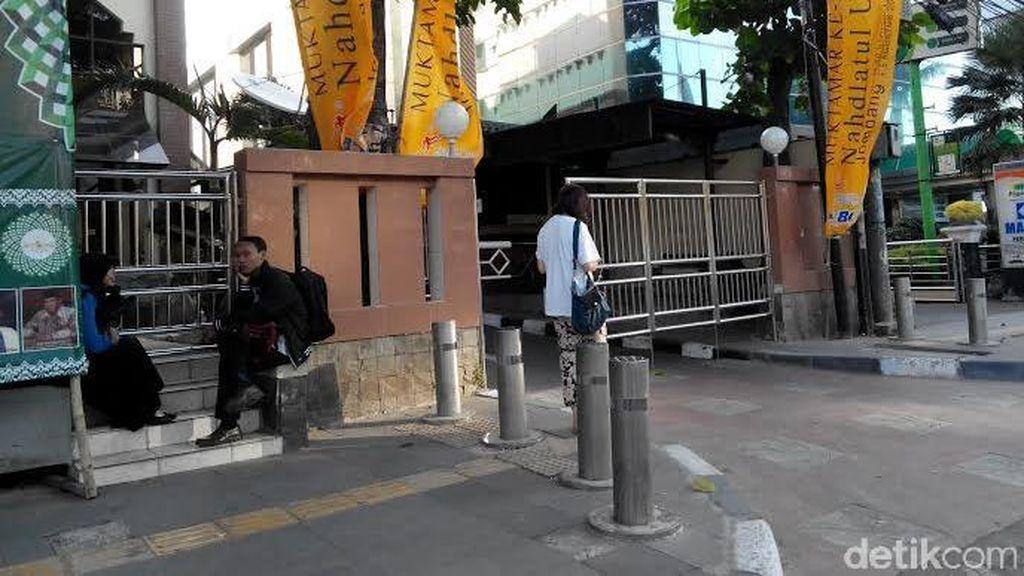 Pasca Kericuhan Muktamar NU di Jombang, Kantor PBNU di Jakarta Dijaga Ketat