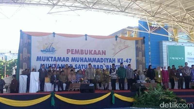 Jokowi: Muhammadiyah Mampu Menjadi Motor Kemajuan Bangsa dan Negara