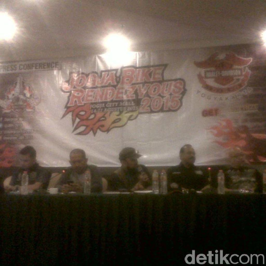 4 Ribu Bikers Harley Davidson Akan Gelar Upacara HUT RI di Candi Prambanan