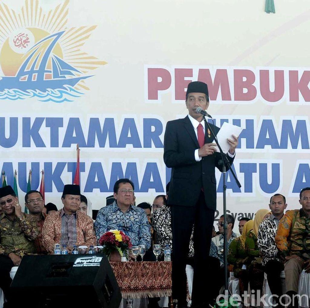 Pidato Lengkap Presiden Jokowi di Pembukaan Muktamar Muhammadiyah