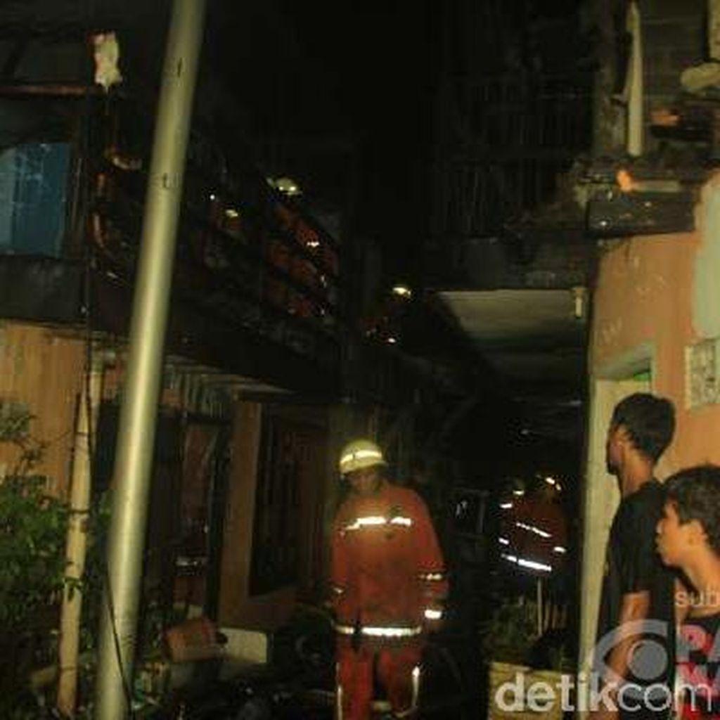Kebakaran di Cipinang Hanguskan 23 Rumah, Penyebabnya Korsleting Listrik