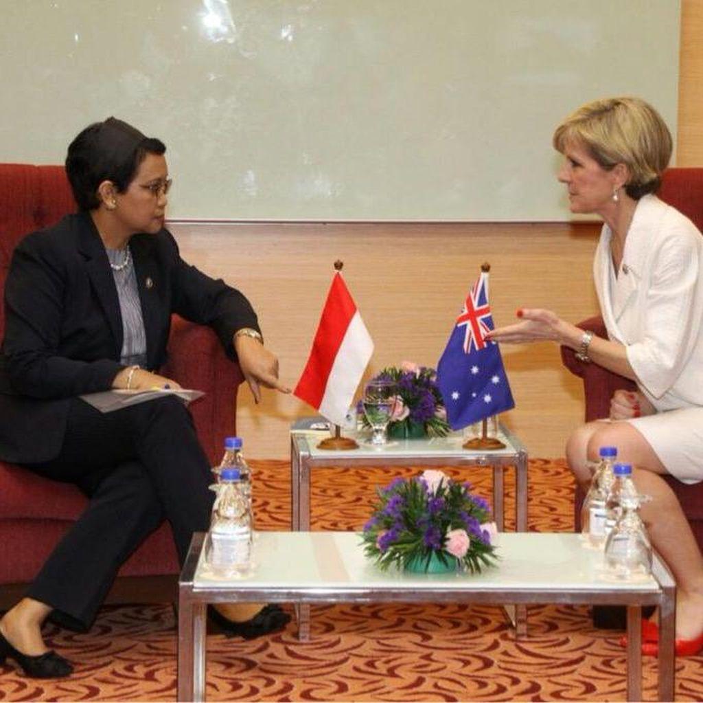Menlu Retno Bertemu Menlu Australia Bahas Bebas Visa