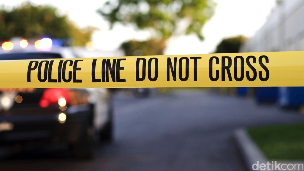 Rumah Bedeng Agus Tersangka Pencabulan Remaja 15 Tahun Dipasangi Garis Polisi