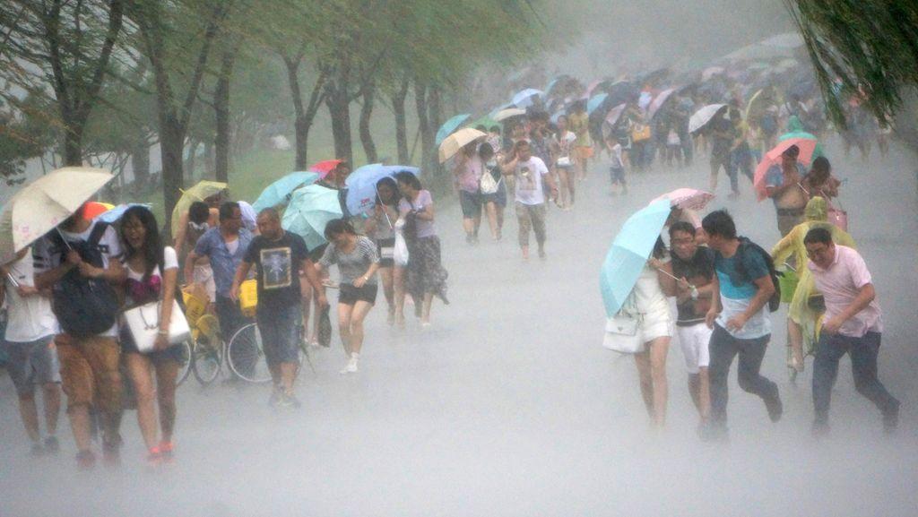 Topan Soudelor Renggut 4 Nyawa di Taiwan