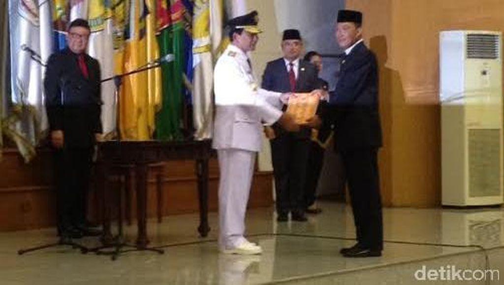 Mendagri Lantik Gubernur Kalsel Tarmizi Karim dan Wakil Rektor IPDN Erliana Hasan