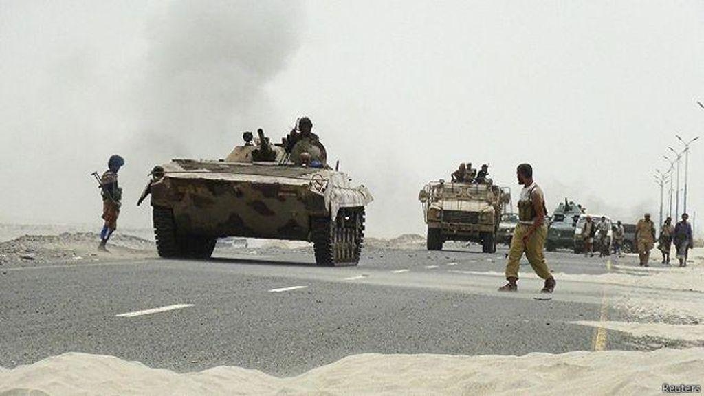 Pasukan Pro Pemerintah Yaman Lancarkan Serangan Lagi
