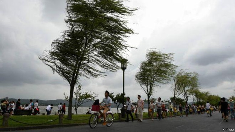 14 Orang Tewas Akibat Topan Soudelor di China, Ratusan Ribu Diungsikan