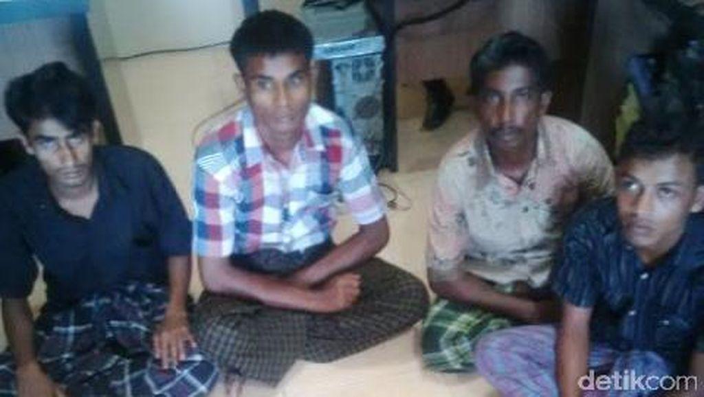 Kompak Isap Ganja di Pengungsian, 4 Imigran Myanmar dan Bangladesh Ditangkap