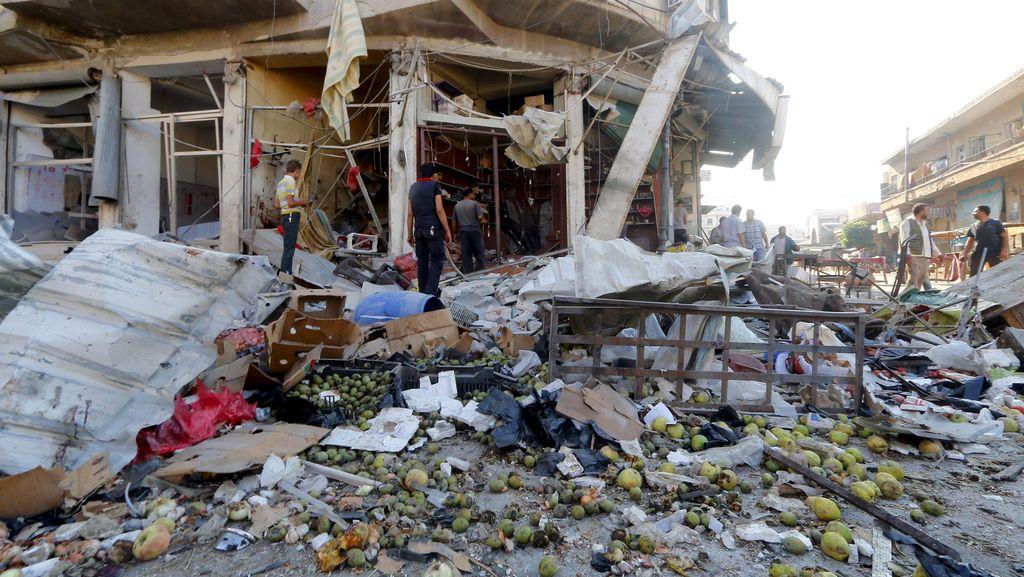 25 Warga Sipil Suriah Tewas Akibat Serangan Udara, Termasuk 6 Anak-anak