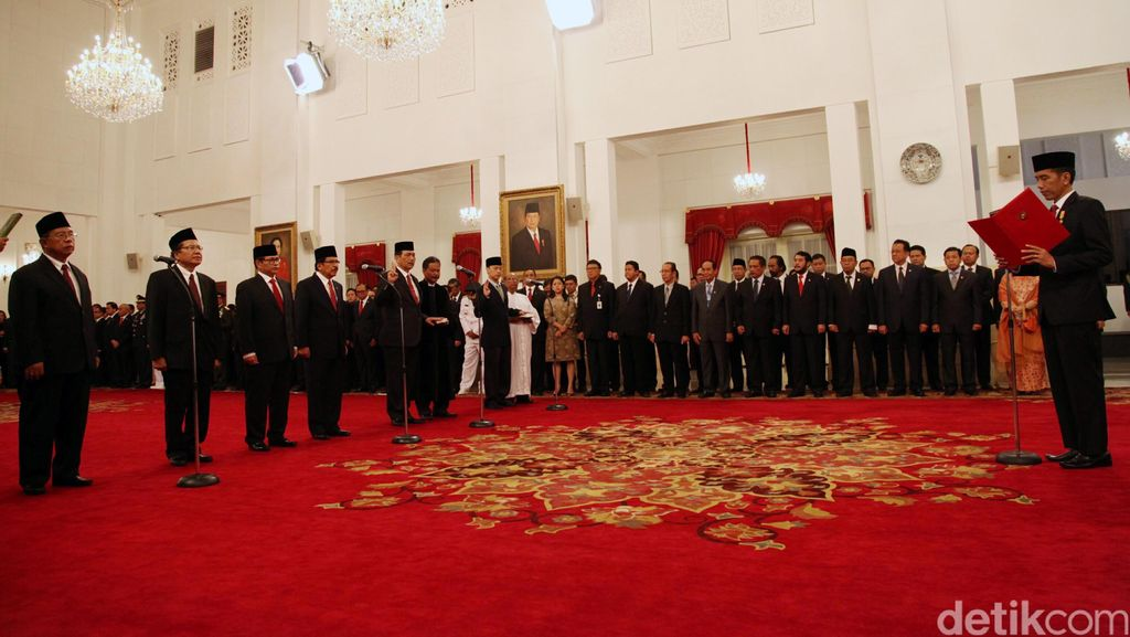 NasDem Pertanyakan Alasan Jokowi Tunjuk 11 Menteri Penghubung