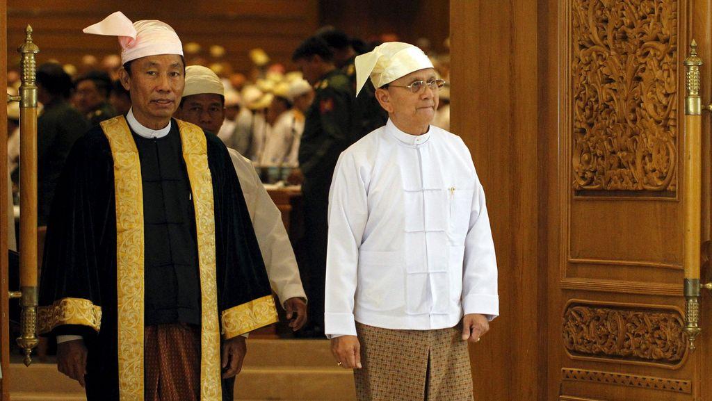 Ada Ketegangan Politik, Polisi Myanmar Kepung Markas Partai Berkuasa