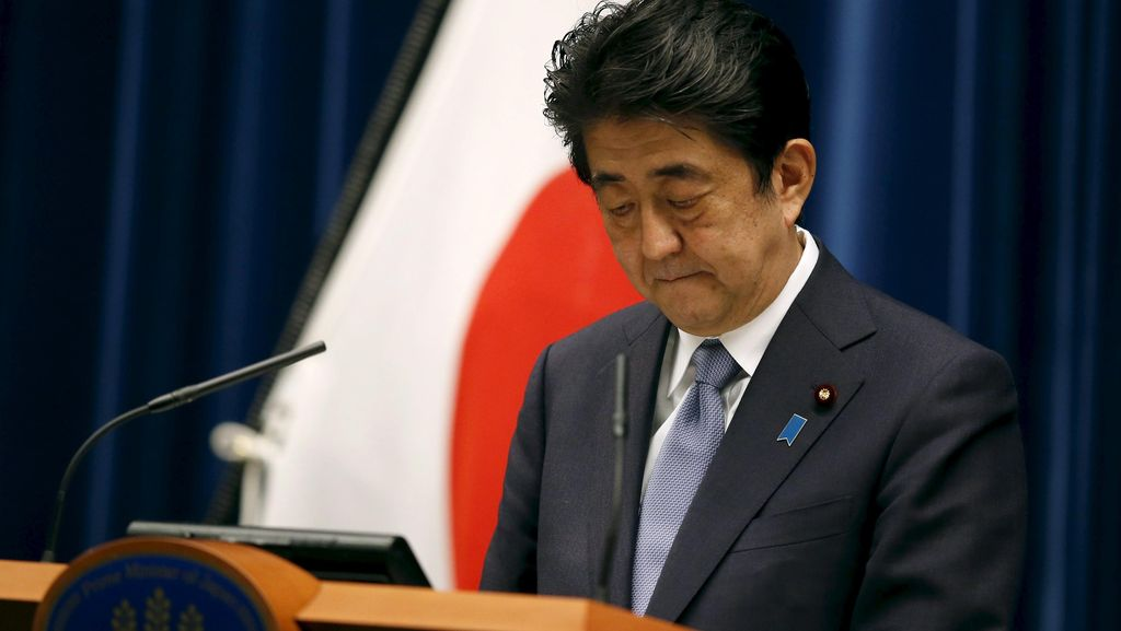 Peringatan 70 Tahun Perang Dunia II, PM Jepang Sampaikan Duka Mendalam