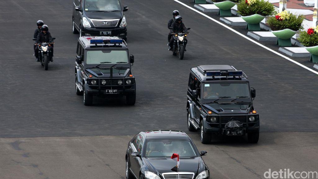 Serobot Rombongan RI 2 di Jl Ciledug Raya, Pemotor ini Diamankan Polisi