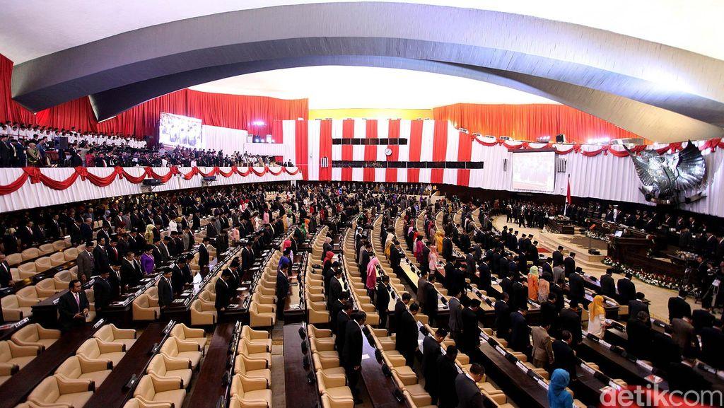 Presiden Jokowi Berpidato di Sidang Tahunan MPR-DPR-DPD 16 Agustus