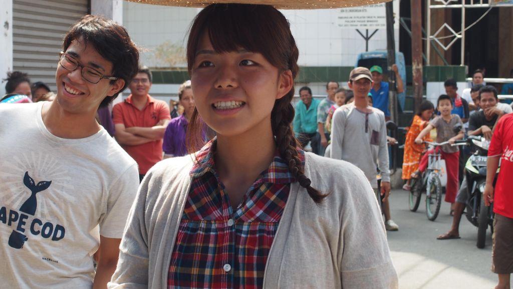Anak Muda Jepang Belajar Toleransi dari Lomba Agustusan di Indonesia