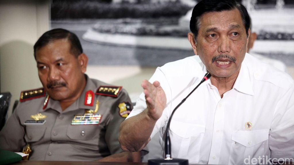 Bentrok TNI-Polri di Polewali Mandar, Menko Luhut: Tidak Terlalu Serius