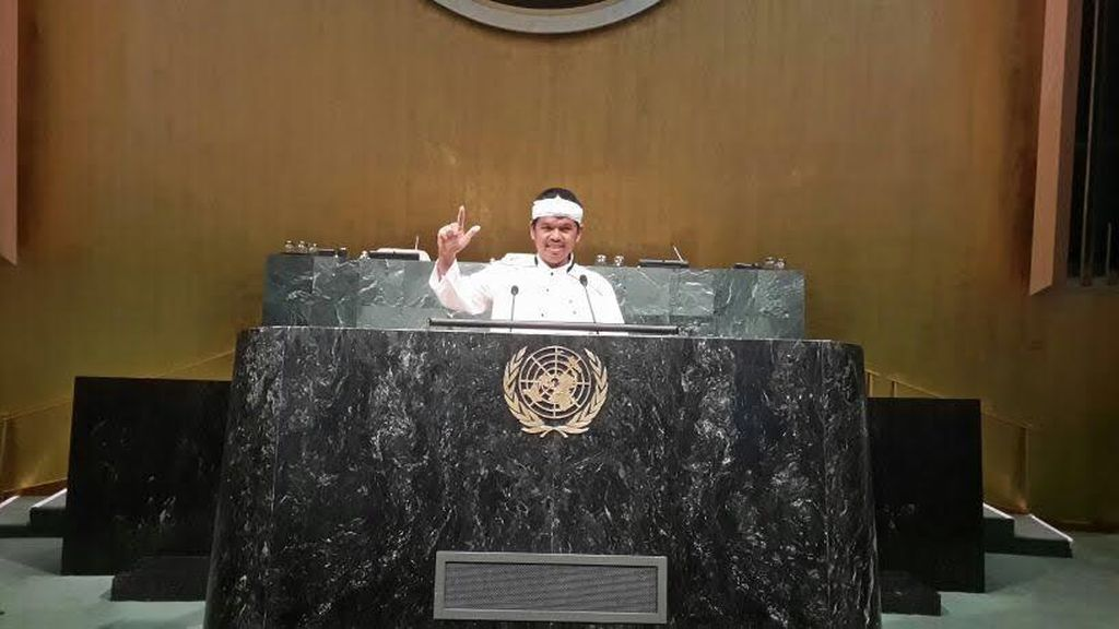 Bupati Purwakarta Pidato di Markas PBB di New York, Bicara Cara Membangun Desa