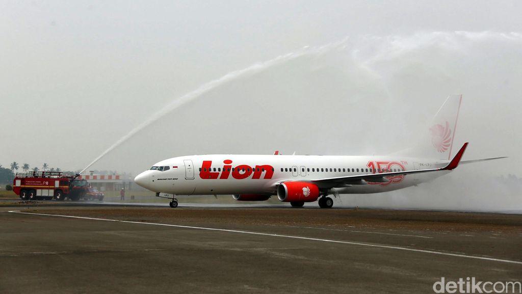 Terbang 1,5 Jam Pesawat Lion Air Mendarat Kembali di Makassar