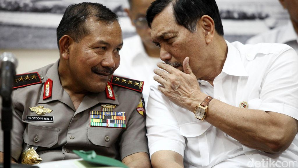 Menko Polhukam dan Panglima TNI Temui Kapolri, Ada Apa?