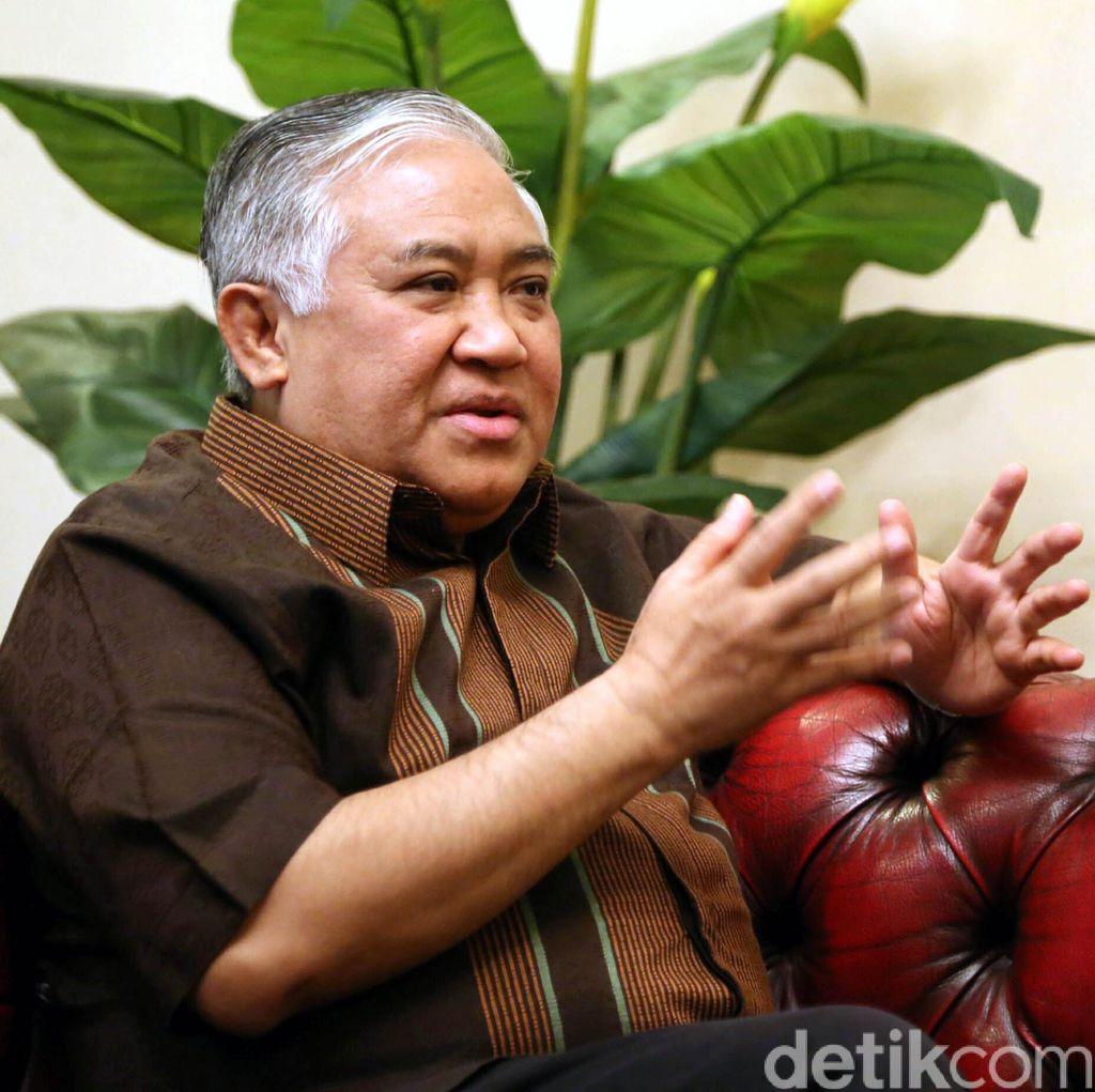 Din Syamsuddin Minta Jokowi dan JK Netral di Pilgub DKI