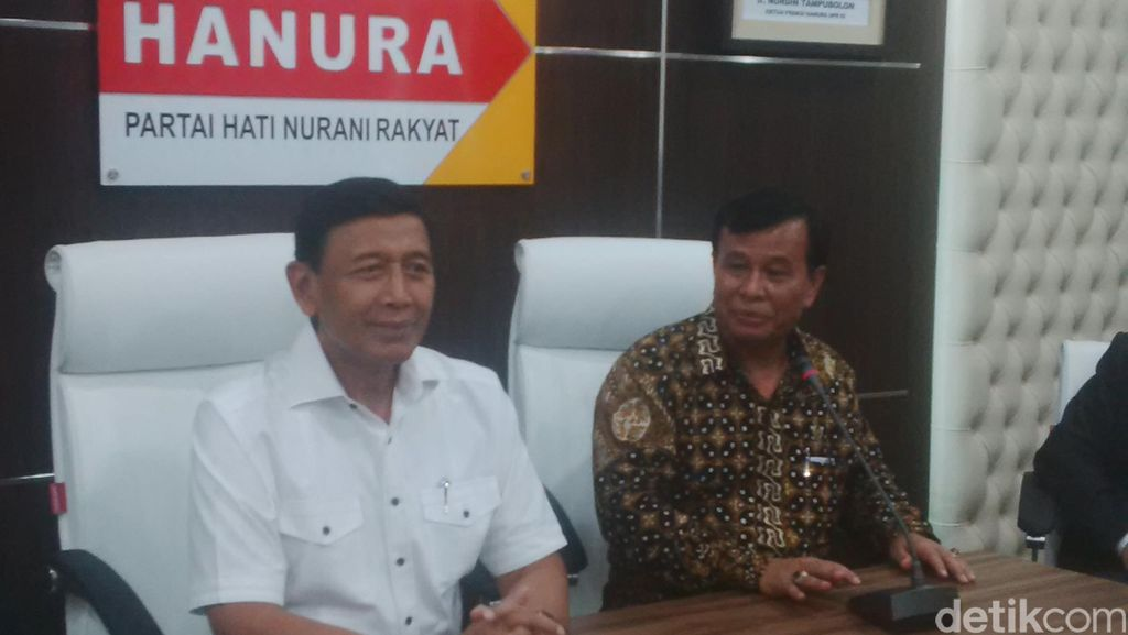 3 Pesan Wiranto untuk 16 Anggota F-Hanura DPR