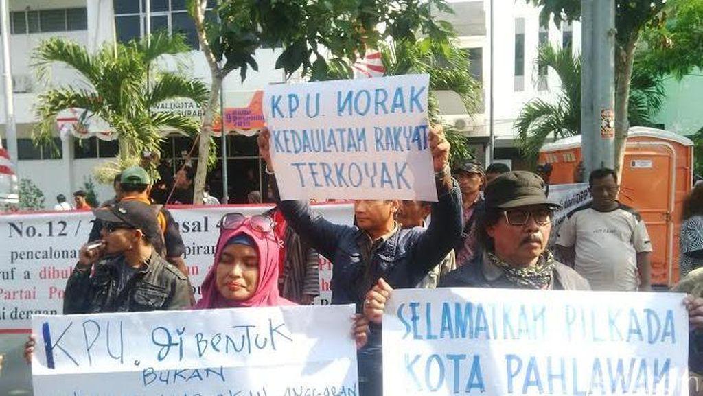 Ada Sengketa, Panwaslu Surabaya Minta KPU Tunda Pendaftaran