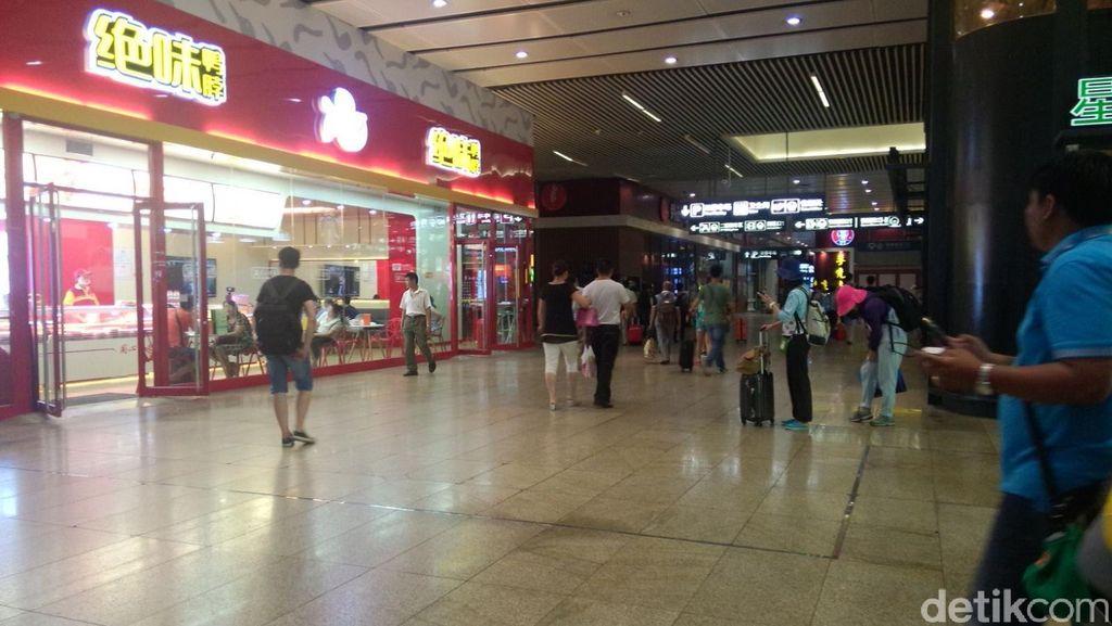 Yuk, Intip Kemewahan Pelayanan di Stasiun Kereta Api China