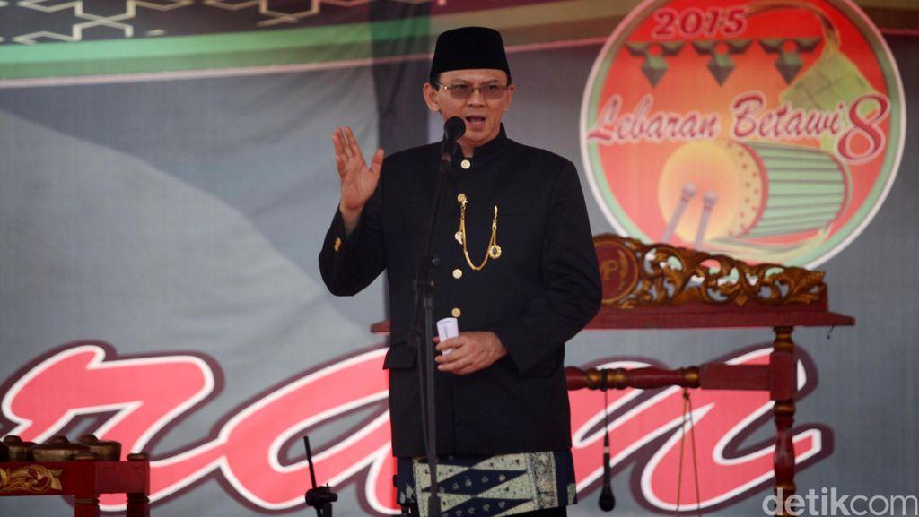 Ahok: Saya Akan Tunjukkan Kalau Lebih Laku dari Taufik di Jakarta