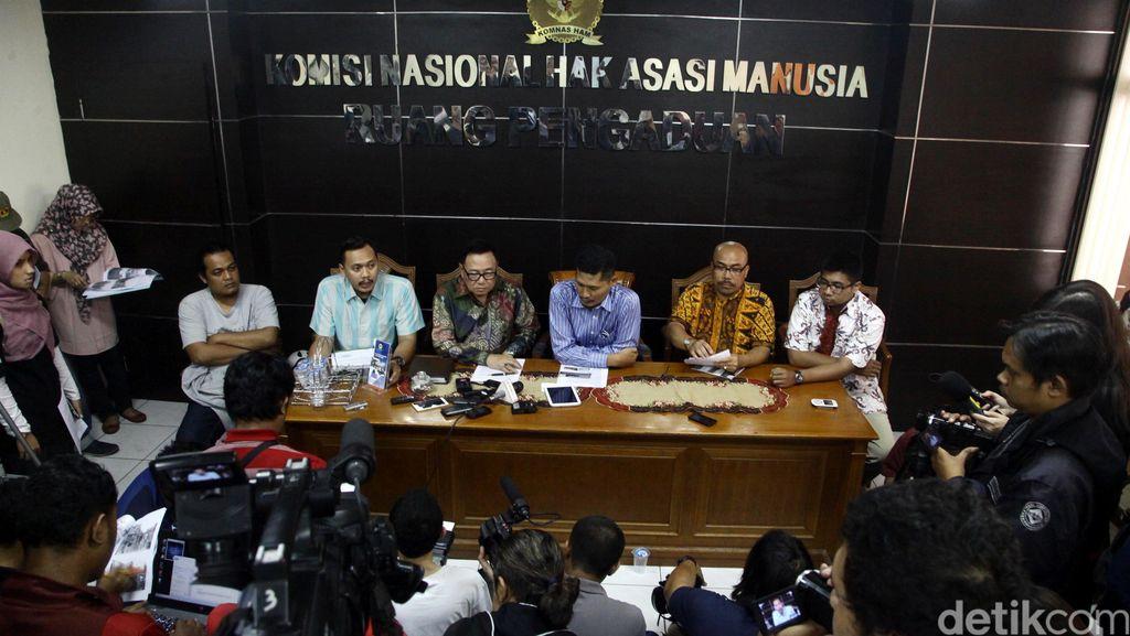 Sumsel dan Jakarta Tercatat Tertinggi Pelanggaran HAM