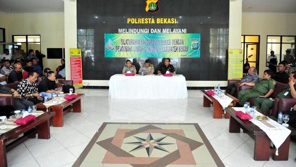 Polres Kabupaten Bekasi Kumpulkan Pengusaha Bahas Pengolahan Limbah