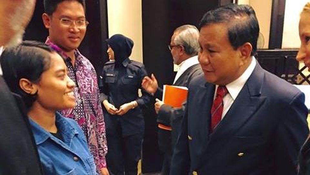 Senyum Bahagia Prabowo Dampingi Kebebasan TKW Wilfrida dari Hukuman Mati