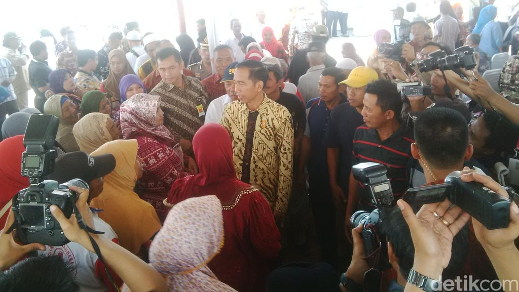 Jokowi Minta Korban Lumpur yang Terima Ganti Rugi Tidak Konsumtif