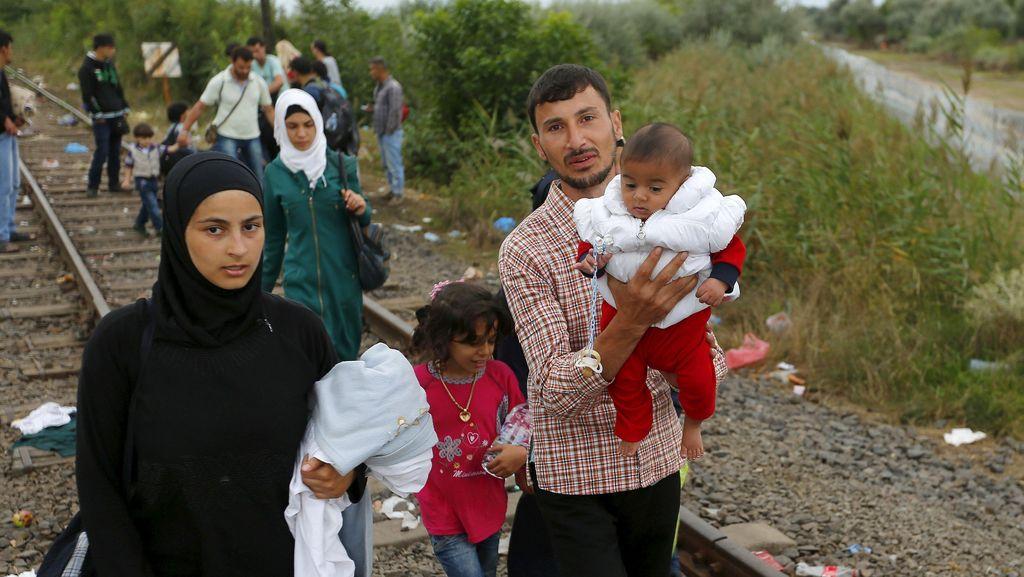 Krisis Imigran, Inggris Bersedia Tampung Ribuan Pengungsi Suriah