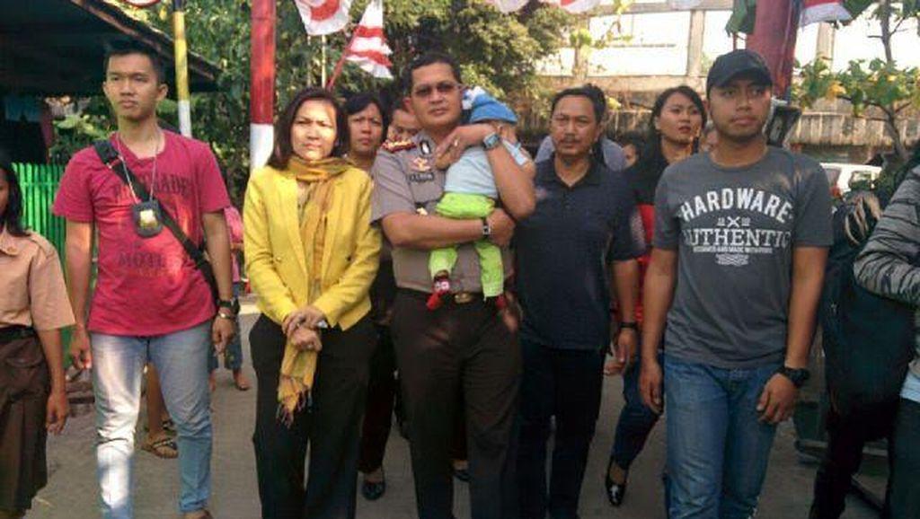 Polres Jakut Tangkap Pelaku Penculik Bayi Umur 4 Bulan