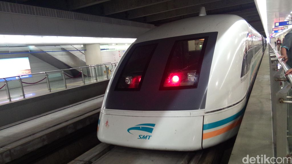 Sensasi Kereta Cepat Shanghai, 36 Km Ditempuh 8 menit