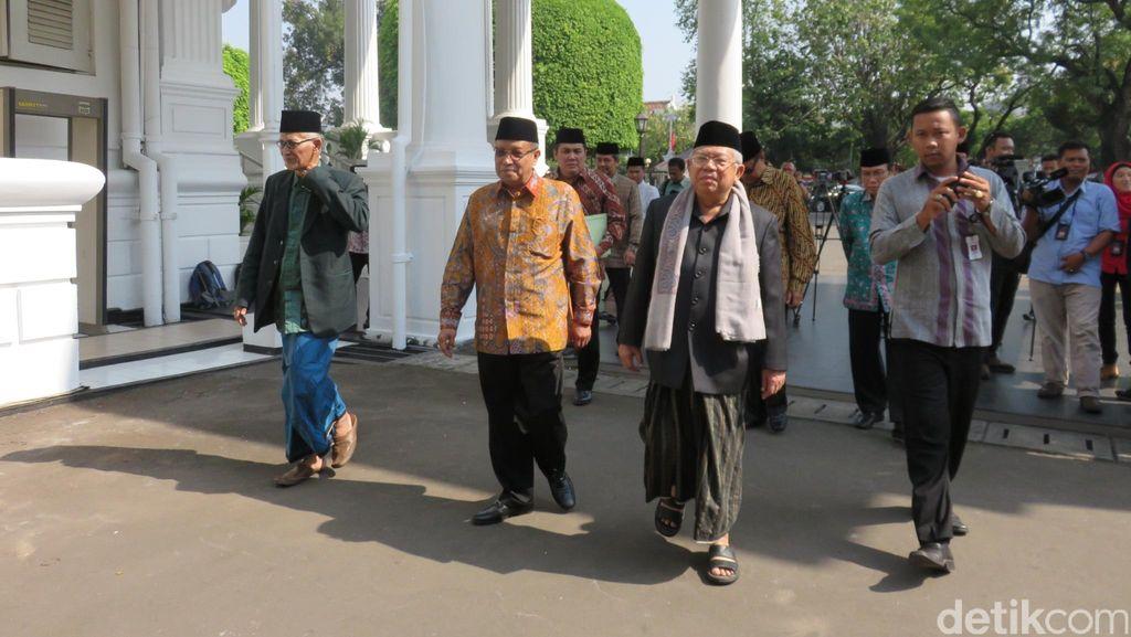 PBNU Sampaikan Rekomendasi Muktamar ke Presiden Jokowi