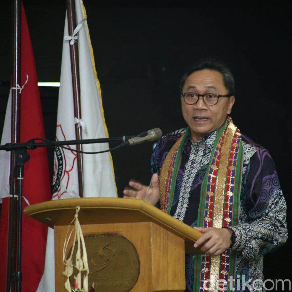 Cerita Ketua MPR di Unsoed: Banyak Kepala Daerah Terkooptasi Pemodal