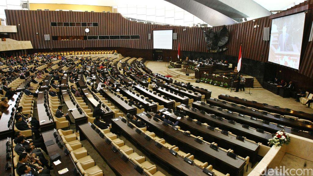 Paripurna DPR Soal APBN 2017, 265 Wakil Rakyat Absen