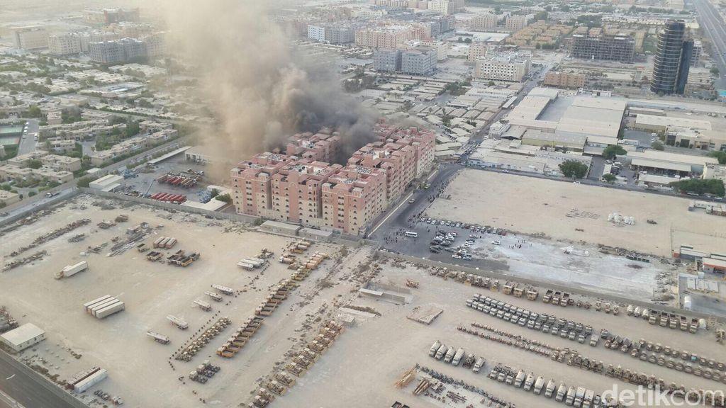 Kebakaran di Komplek Aramco Al-Khobar, 2 Orang WNI Terluka