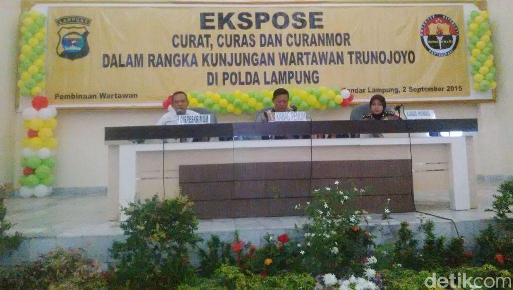 Polda Lampung Bentuk Tim Khusus 308 untuk Berantas Begal Motor